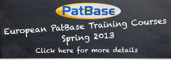 PatBase Training